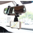 SYSTEM-S Car Truck Auto Rearview Mirror Mount Bracket for Smartphone