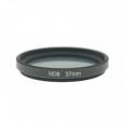 SYSTEM-S Neutraldichtefilter Graufilter ND-Filter ND8 37mm Linse Objektiv für iPhone X