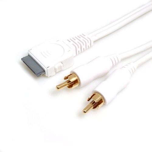 system s line out kabel f r apple 30pin system s. Black Bedroom Furniture Sets. Home Design Ideas