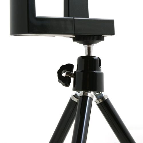 stativ halter halterung f r handy smartphone kamera system s. Black Bedroom Furniture Sets. Home Design Ideas