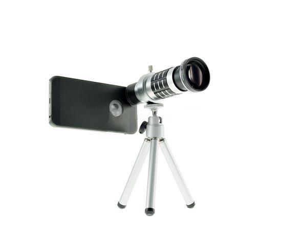 Zoom teleskop objektiv für iphone samsung huawei mit stativ