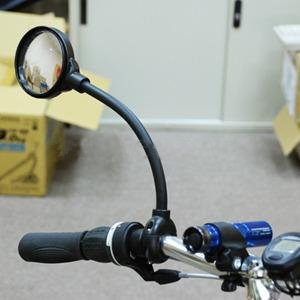 system s fahrrad r ckspiegel mit fischauge fisheye spiegel. Black Bedroom Furniture Sets. Home Design Ideas