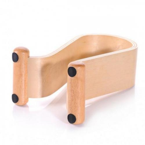 Birke Holz system s universal kopfhörerhalter holz halterung für kopfhörer