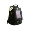 Leaf Black Backpack Deluxe Green with Solar Module