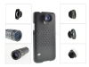 System-S 7-in-1 Combo 20X Microscope / Wide Angle (+Macro) / Fisheye /  2X / 9X / 12X Zoom Lens with case and mini tripod for Samsung Galaxy S5