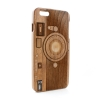 System-S  graphic natural wood  bag cover protector case for iPhone 6 Plus