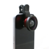 System-S clip-on cloth-clip 0.4 X wide angle lens for camera smartphones tablets