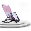 System-S Card Type Wallet Compatible Desktop Stand Table Dock Click Stand for Smartphones