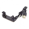 System-S USB Charger Cradle Dock Dockingstation for Garmin Forerunner 220